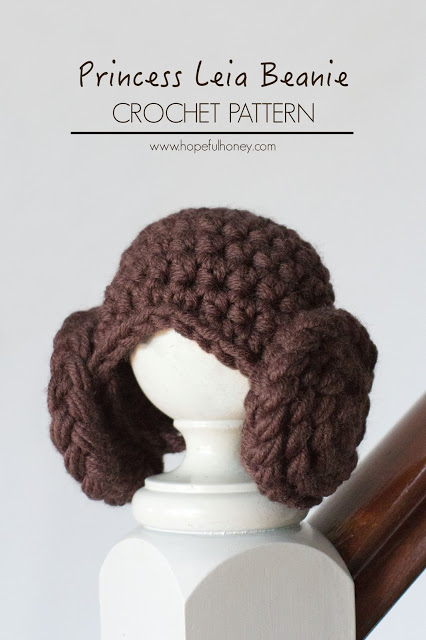 Princess Leia Inspired Baby Beanie Free Crochet Pattern 1