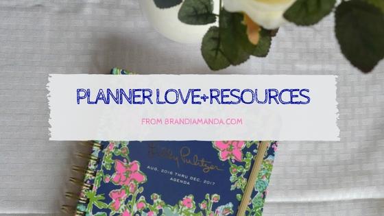 Planner Love+Resources